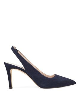 Casablanc Slingback Pumps   French Navy Suede by Nine West
