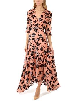 Saloni Edith Floral Maxi Dress by Saloni