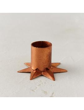 Metallic Star Taper Holder by Terrain