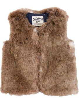 Faux Fur Vest by Oshkosh