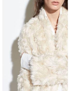 Plush Faux Fur Jacket by Vince