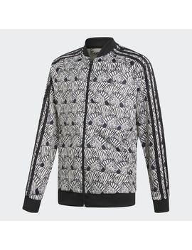 Zebra Sst Track Jacket by Adidas