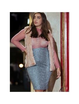 Plus Size Loft Nepp Skirt by Wet Seal