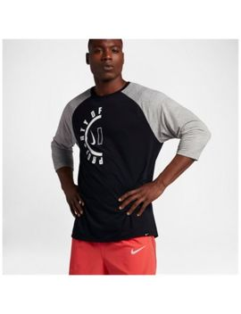 Nike Dri Fit Raglan Burst T Shirt   Men's by Nike