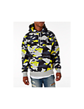 Men's Champion Super Hood Camo Fleece Hoodie by Champion
