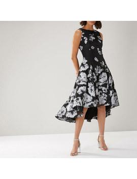 Belle Mono Jacquard Dress by Coast