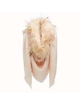 Touch Of Fur Shawl by Fendi