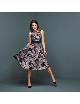 Emele Jacquard Dress by Coast
