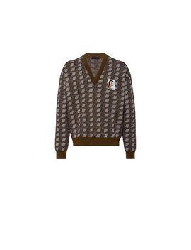 Jacquard Sweater by Prada