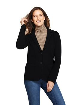 Women's Sweater Blazer by Lands' End