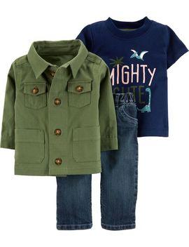 3 Piece Jacket & Jean Set by Carter's