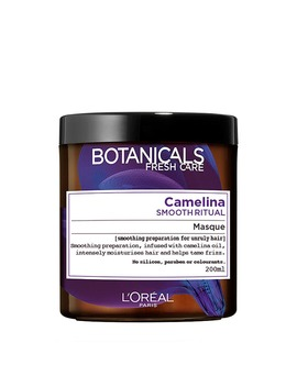 L'oréal Paris Botanicals Camelina Unruly Hair Smoothing Hair Mask 200ml by L'oréal Paris