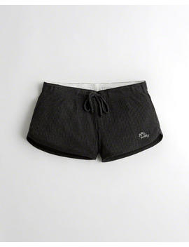 Ribbed Logo Shorts by Hollister