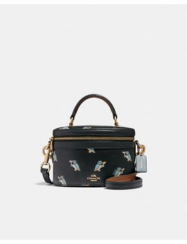Trail Bag With Party Owl Print by Coach