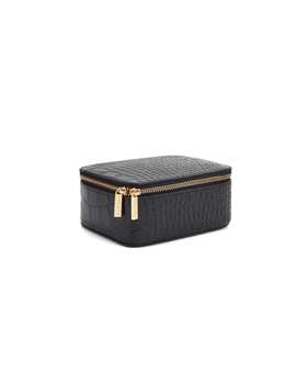 Croc Embossed Mini Jewelry Case by Cuyana