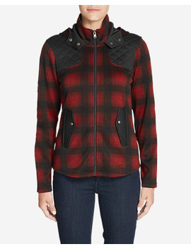Women's Radiator Fleece Cirrus Jacket   Plaid by Eddie Bauer