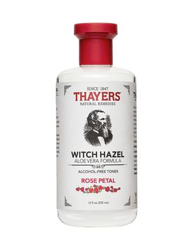 Thayers Rose Petal Witch Hazel Alcohol Free Toner With Aloe Vera 12 Oz by Thayer's