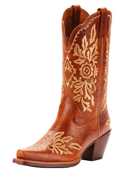 Ariat Women's Harper Full Grain Leather Western Boots   Snip Toe by Ariat