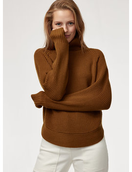 Asianna Sweater   Merino Wool Turtleneck Sweater by Wilfred Free