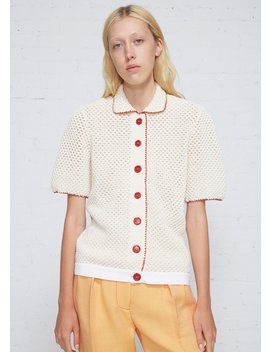 Short Sleeve Cardigan by Marni