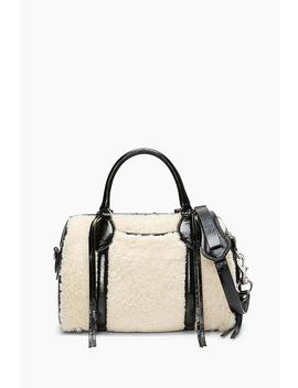 Shearling Duffle Bag by Rebecca Minkoff