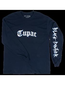 Bravado Black Panther Logo L/S T Shirt by Foot Locker
