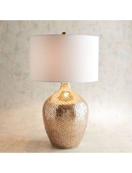 Baroque Gold Mosaic Table Lamp by Pier1 Imports