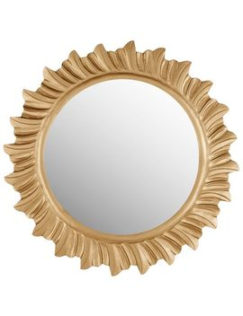 Kyle Gold Wood & Glass Mirror by Pier1 Imports