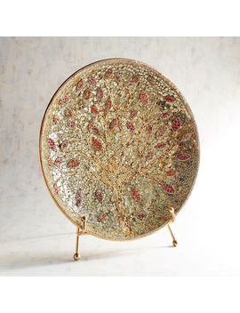 Golden Tree Mosaic Platter With Stand by Pier1 Imports