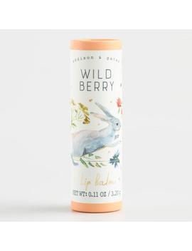 A&G Woodland Wildlife Wild Berry Lip Balm by World Market