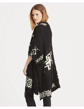 Geometric Wool Blend Cardigan by Ralph Lauren