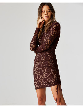 Disinformation Lace Dress by Bailey44