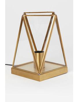 Tischleuchte Glaslaterne by H&M