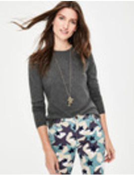 Supersoft Crew Tee by Boden