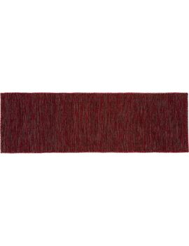 Quitting Time Red Runner 2.5'x8' by Crate&Barrel