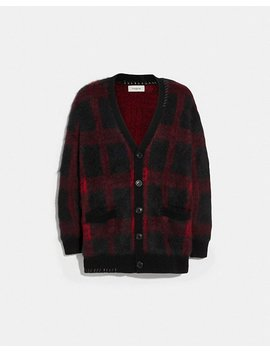 Mohair Cardigan by Coach