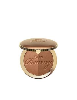 Too Faced Sun Bunny Radiant Duo Tone Bronzer by Too Faced