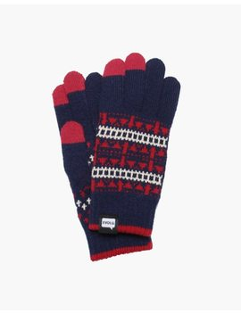 Evolg® Jacquard Touchscreen Gloves by Madewell