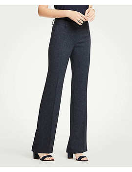 The Madison Trouser In Speckled Twill by Ann Taylor