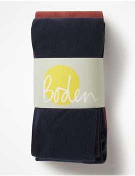 Two Pack Cosy Tights by Boden