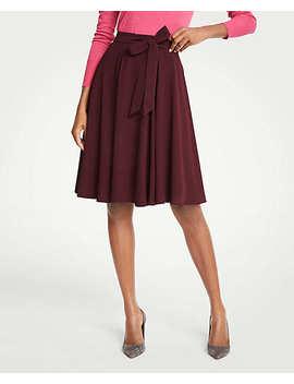 Petite Chiffon Full Skirt by Ann Taylor