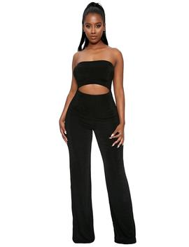 Cut U Out Jumpsuit by Naked Wardrobe