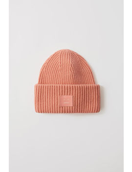 Oversized Beanie Pale Pink by Acne Studios