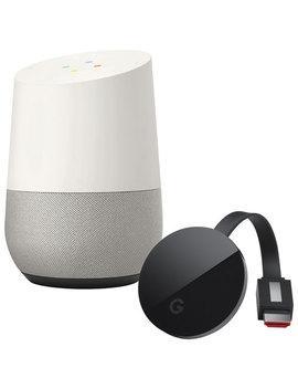 Google Home & Google Chromecast Ultra by Google