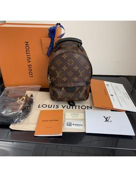 Palm Springs Mini 2018 Monogram Leather Backpack by Louis Vuitton
