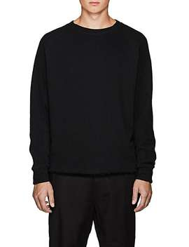 Cotton French Terry Sweatshirt by Chapter
