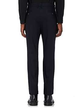 Stretch Wool Flat Front Trousers by Barena Venezia