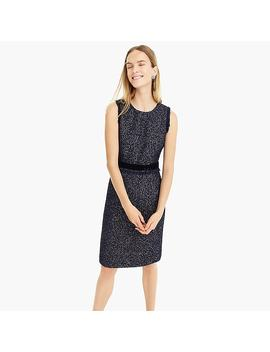 Sparkle Tweed Dress by J.Crew