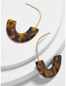 Pavé Faidra Resin Drop Earrings by Baublebar