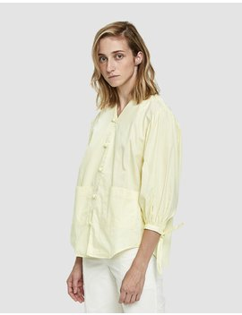 Front Button Blouse by House Of Sunny